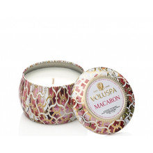 Voluspa Maison Blanc Collection Macaron Travel Tin Candle