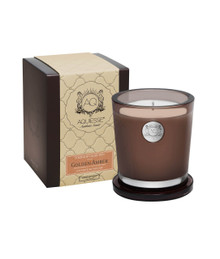 Aquiesse Portfolio Collection Golden Amber Large Soy Candle