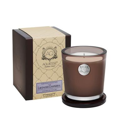 Aquiesse Portfolio Collection Lavender Chaparral Large Soy Candle