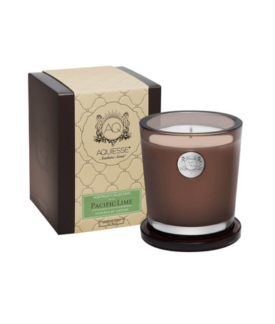Aquiesse Portfolio Collection Pacific Lime Large Soy Candle