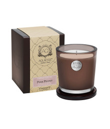 Aquiesse Portfolio Collection Pink Peony Large Soy Candle