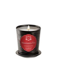 Aquiesse Portfolio Collection Mandarin Tea Tin Candle With Matchbook