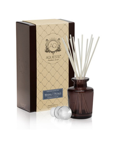 Aquiesse Portfolio Collection Moonlit Petals Reed Diffuser