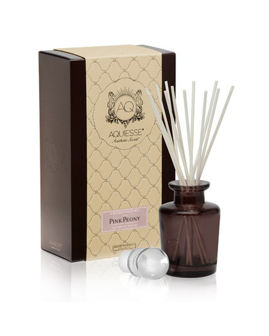 Aquiesse Portfolio Collection Pink Peony Reed Diffuser
