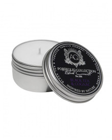 Aquiesse Black Currents Collection Black Tea & Cognac Travel Tin Candle