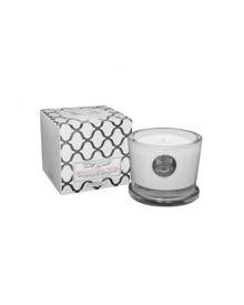 Aquiesse White Current Collection White Coral Musk Small Soy Candle