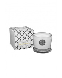 Aquiesse White Current Collection White Ginger Lily Small Soy Candle