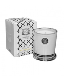 Aquiesse White Current Collection White Ginger Lily Large Soy Candle