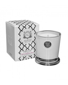 Aquiesse White Current Collection White Grapefruit Acai Large Soy Candle