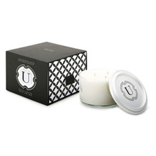 Archipelago 1834 Monogram Soy Candle With Lid - Letter U