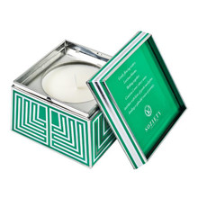 Votivo Soziety Collection Gracious Green Trapezoid Tin Candle