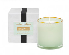 LAFCO Cottage House/Amber Sea Foam House & Home Glass Candle