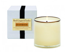 LAFCO State Room/Red Ginger & Tonka House & Home Glass Candle