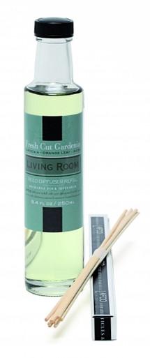 LAFCO Living Room/Fresh Cut Gardenia House & Home Diffuser Refill