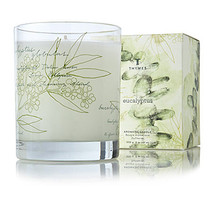 Thymes Eucalyptus Collection Glass Candle