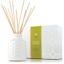 Thymes Mandarin Coriander Collection Hobnail Reed Diffuser