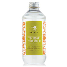Thymes Mandarin Coriander Collection Reed Diffuser Refill