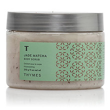 Thymes Jade Matcha Collection Body Scrub