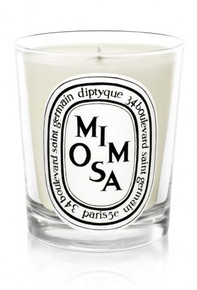 Diptyque Bougie Parfumee Mimosa Glass Candle
