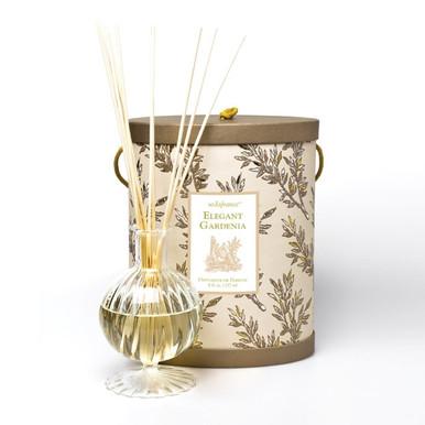 Seda France Elegant Gardenia Classic Toile Diffuser Set