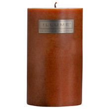Heirloom Pumpkin ILLUME 4x8 Pillar Candle