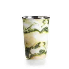 Illume Chanterelle Moss Enameled Tumbler Tin Candle