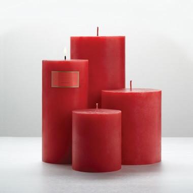 "Illume Anemone 3"" x 3"" x 6.5"" Pillar Candle"