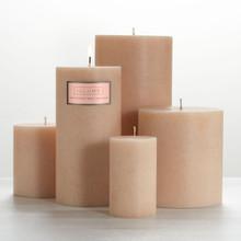 "Illume Coconut Milk Mango 4"" x 4.5"" Pillar Candle"