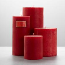 """Illume Desert Tulip 3"""" x 3"""" x 6.5"""" Pillar Candle"""
