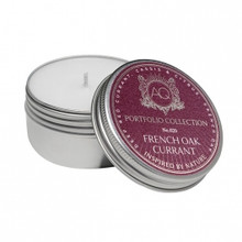 Aquiesse Portfolio Collection French Oak Currant Travel Tin Candle