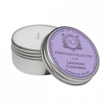 Aquiesse Portfolio Collection Lavender Chaparral Travel Tin Candle