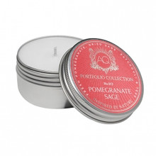 Aquiesse Portfolio Collection Pomegranate Sage Travel Tin Candle
