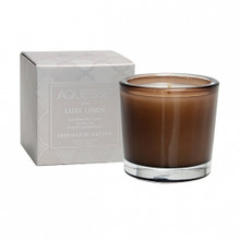 Aquiesse Portfolio Collection Luxe Linen Votive Candle