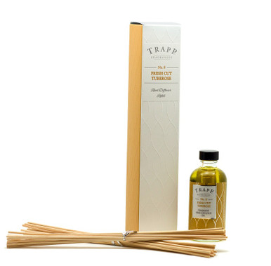 Trapp Fragrances Fresh Cut Tuberose Reed Diffuser Refill