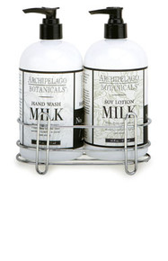 Archipelago Botanicals Milk Collection Soy Milk Sink Set