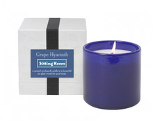 LAFCO Sitting Room/Grape Hyacinth House & Home Glass Candle