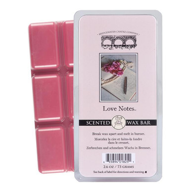 Bridgewater Candle Scented Wax Bar - Love Notes