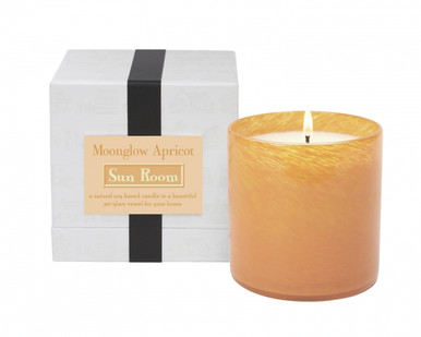 LAFCO Sun Room/Moonglow Apricot House & Home Glass Candle