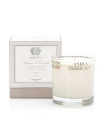Antica Farmacista Fig Leaf Platinum Round Glass Candle