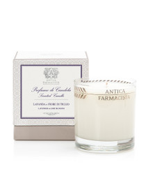 Antica Farmacista Damascena Rose, Orris & Oud Platinum Round Glass Candle