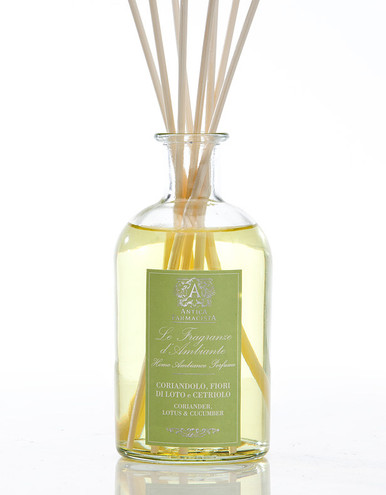 Antica Farmacista Coriander Lotus & Cucumber Home Ambience Reed Diffuser - 250 ml.