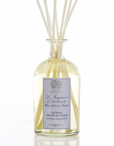 Antica Farmacista Lavender & Lime Blossom Home Ambience Reed Diffuser - 250 ml.