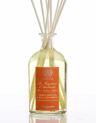 Antica Farmacista Orange Blossom Lilac & Jasmine Home Ambience Reed Diffuser - 250 ml.