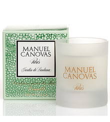 Manuel Canovas Jardin de Lantana Medium Glass Candle
