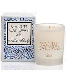 Manuel Canovas Nuit de Serendip Medium Glass Candle