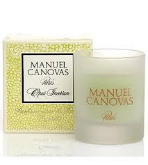 Manuel Canovas Opus Incertum Glass Votive Candle