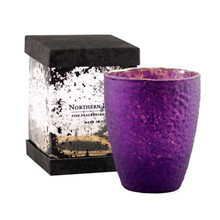 Northern Lights Candles Plum Orchid Gem Candle