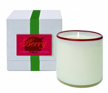 LAFCO Holiday Collection Berry Glass Candle