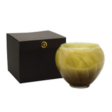 """Northern Lights Candles Esque Collection Olive 6"""" Vase Candle"""