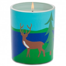 R. Nichols Lake Glass Candle